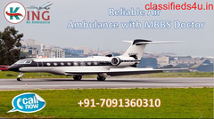 Receive a Magnificent CCU Enabled Air Ambulance Service in Delhi at Low Fare