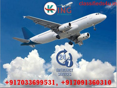 Hire King Air Ambulance Service in Ranchi with Reliable ICU at Cheap Rate
