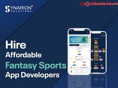 Hire Affordable Fantasy Sports App Developers