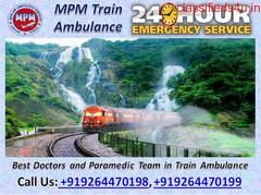 Get Most Helpful and Comfortable MPM Train Ambulance in Kolkata