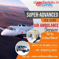 Pick Medivic Air Ambulance Service in Patna with ICU Facilities