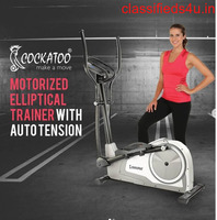 GET A RANGE OF CROSS TRAINER FOR GYM AND COMMERCIAL GYM EQUIPMENT WITH COCKATOO INDIA