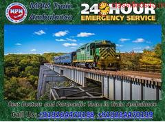 MPM Train Ambulance Service in Patna provides Safe Shifting Service