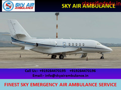 Quick Patient Shifting by Sky Air Ambulance Service in Kanpur