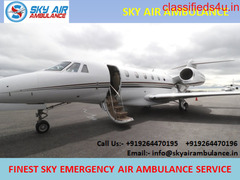 Pick Sky Air Ambulance Service in Lucknow for Safe Patient Relocation
