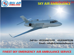 Outstanding Air Ambulance Service in Nagpur Available by Sky Air Ambulance