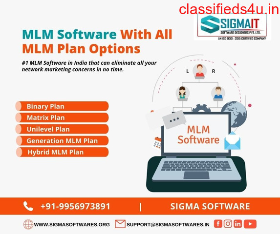 #1 MLM Software With All Types of MLM Plan Options
