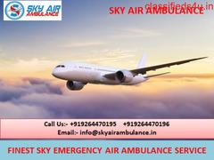 Complete ICU Facility Emergency Air Ambulance Service in Sri Nagar