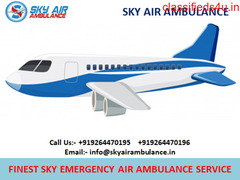 Best Patient Care Air Ambulance Service inn Imphal by Sky Air