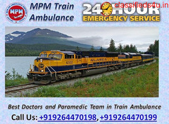 Get MPM Train Ambulance Facilities in Patna with Medical Team