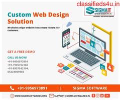 Custom Web Design Solution in India