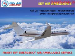 Sky Air Ambulance Service in Bhopal with Hi-Tech ICU Setup