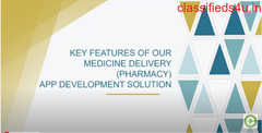 Key Features Of Medicine Delivery App