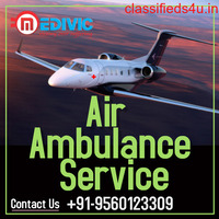 The Finest Emergency Air Ambulance in Patna with ICU Care by Medivic