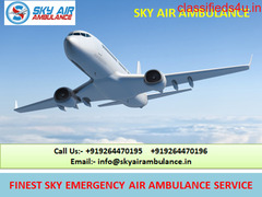 Hire World-Class Domestic Air Ambulance Service in Agartala by Sky