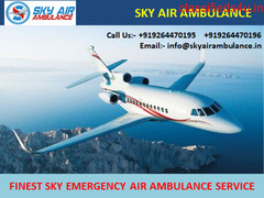 Quick & Reliable Air Ambulance Service in Imphal by Sky Air