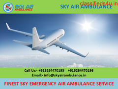 Pick Fastest Air Ambulance Service in Bilaspur by Sky Air