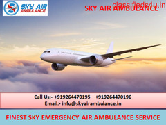Quick Medical Setup Air Ambulance Service in Pondicherry by Sky