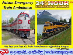 Use Falcon Emergency Train Ambulance Facilities in Chennai with Best ICU Services