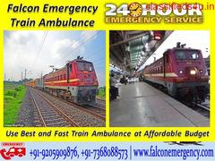 Get Medical Train Ambulance Facilities in Bangalore – Falcon Emergency at Reasonable Cost