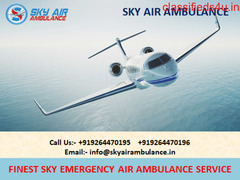 Credible Patient Care Air Ambulance Service in Brahmpur-Sky Air Ambulance