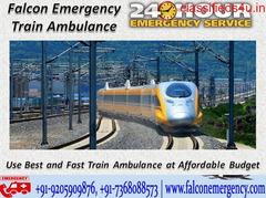 Get Train Ambulance Service in Chennai by Falcon Train Ambulance at Minimum Cost