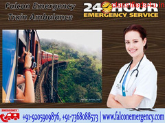 Get Cost-Efficient Train Ambulance in Bangalore with Emergency Facilities