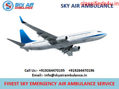 Superior & Economical Air Ambulance Service in Cooch-Behar