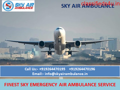 Complete ICU Care Air Ambulance in Dehradun Available by Sky Air