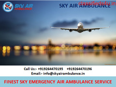 Easily Available Sky Air Ambulance Service in Hyderabad