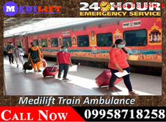 Get Train Ambulance Service in Bangalore - Medilift with Best Expert Team Members