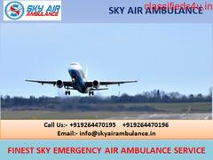 Superior Air Ambulance Service in Kharagpur at Affordable Rate