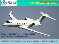 Safe Patient Relocation by Sky Air Ambulance Service in Pune