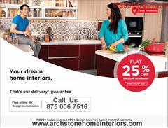 Interiors Designer in Noida, Greater Noida and Faridabad.