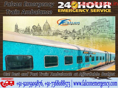 Get 100% Secure Train Ambulance Service in Bangalore - Falcon Emergency