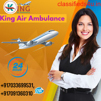 Hire World No-1 Air Ambulance Service in Delhi with ICU by King