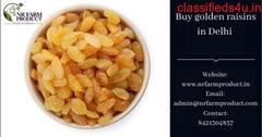 Buy golden raisin in Delhi