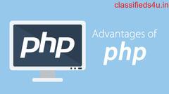 Advantegs of PHP for web application development ?