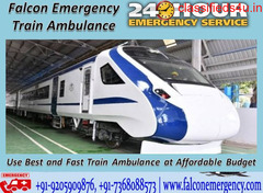 Get Emergency Facility by Falcon Train Ambulance Service in Delhi