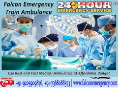 Book the Upgraded and Efficient Train Ambulance in Bangalore by Falcon Emergency