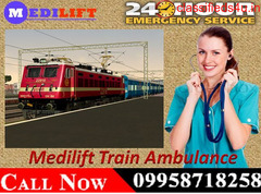 Now Most Affordable ICU Train Ambulance Service in Delhi by Medilift