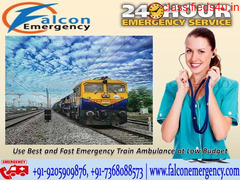 Use Quick Emergency Air & Train Ambulance in Delhi with all Unique Facility