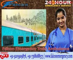 Use Falcon Emergency Train Ambulance in Patna for Best Transportation