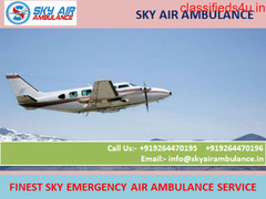 Now Choose Sky air ambulance service in Kanpur