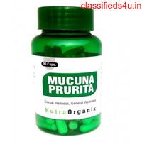 Buy Mucuna Pruriens Powder Capsules Online USA | Nutraorganix.com
