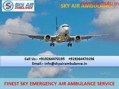 Pick Life Saviour Air Ambulance in Madurai by Sky Air Ambulance