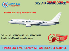 Hire Quality Based Air Ambulance Service in Rajkot