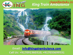 Use King Train Ambulance Service in Delhi with Emergency Doctor