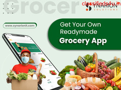 Get Readymade Mobile App Solutions for Grocery Store