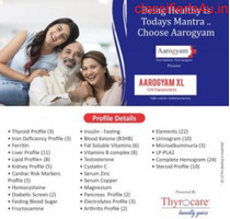Book thyrocare aarogyam XL (139 TESTS) at Lowest Price